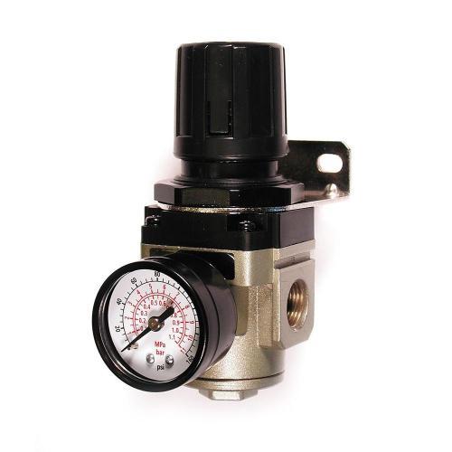 small resolution of 3 8 in npt intermediate air regulator with steel protected gauge