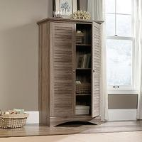 SAUDER Harbor View Antiqued Storage Cabinet-416825 - The ...