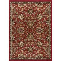 Tayse Rugs Laguna Red 5 Ft. X 7 Transitional Area Rug