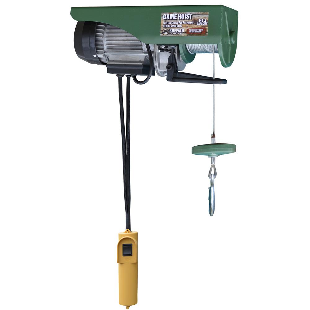 medium resolution of buffalo tools 440 lb electric cable hoist with wired control switch ehoistul electric hoist wiring diagram