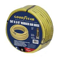 Goodyear 50 ft. x 3/8 in. Rubber Air Hose in Yellow