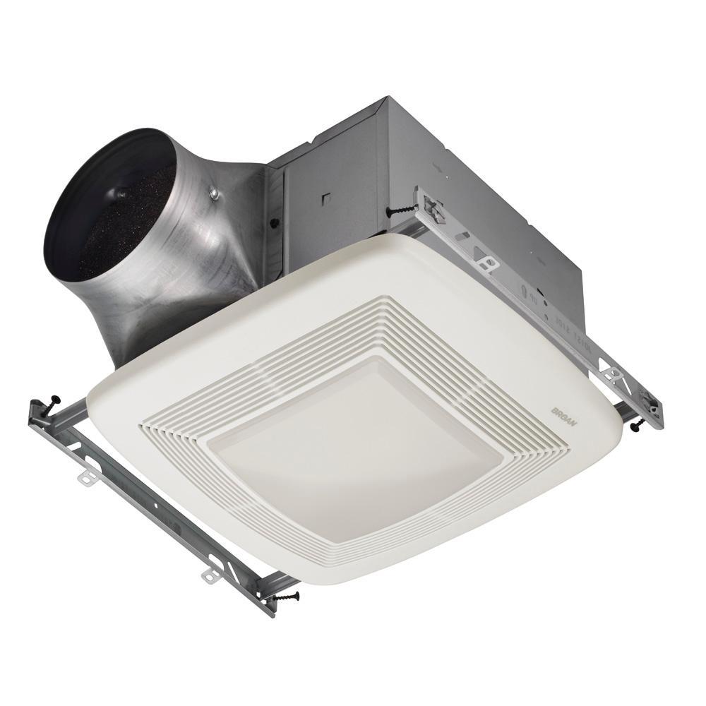 light - bath fans - bathroom exhaust fans - the home depot