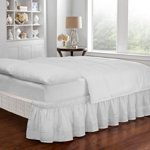 Adjustable King Bed Skirt