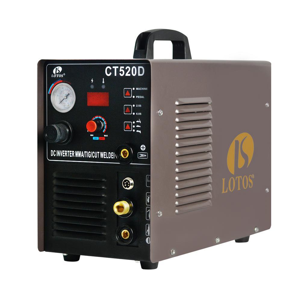 hight resolution of lotos 50 amp plasma cutter 200 amp tig stick welder 3 in