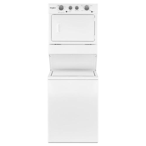 small resolution of whirlpool 3 5 cu ft stacked washer and gas dryer with 9 wash cycles