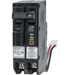 qo 30 amp 1 5 in 2 pole ilc power link circuit breaker [ 1000 x 1000 Pixel ]