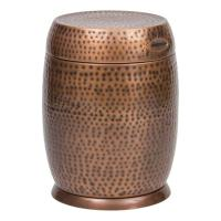 Bombay Outdoors Antique Copper Madras Drum Patio Side ...