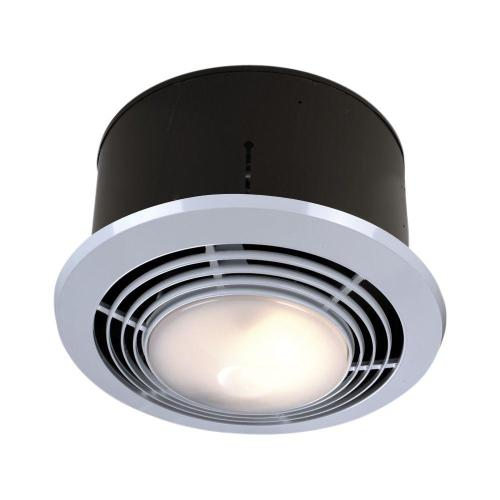 small resolution of 70 cfm ceiling exhaust fan with light and heater 9093wh bathroom exhaust fan light heater reviews