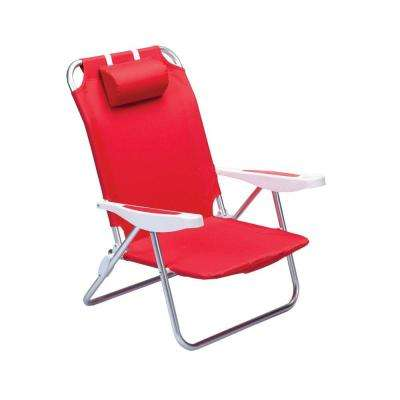 beach lawn chairs black wooden dining patio the home depot red monaco chair