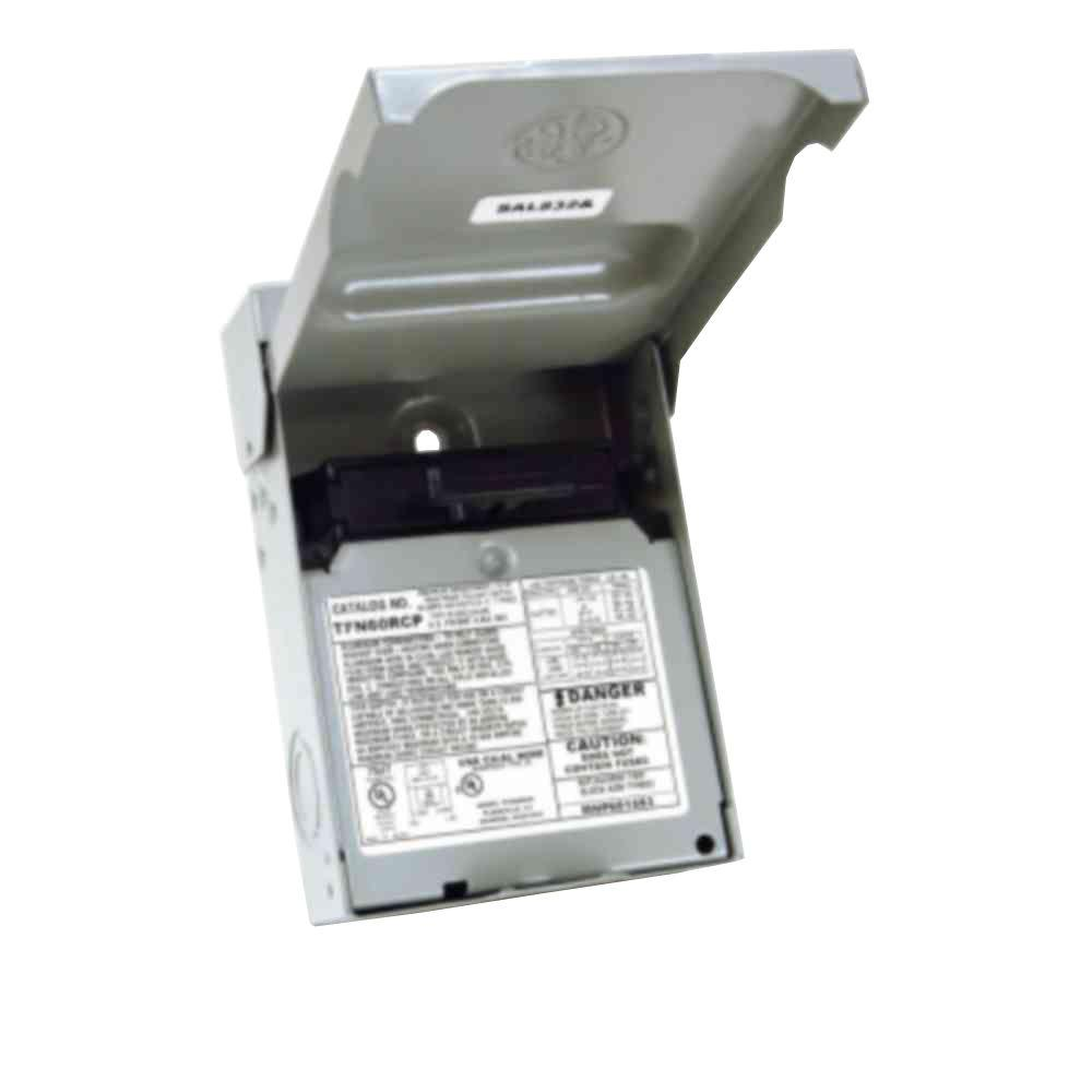 hight resolution of ge 60 amp 240 volt non fuse metallic ac disconnect tfn60rcp thege 60 amp 240 volt