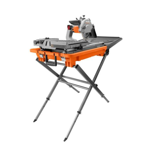 Ridgid 8 In. Tile With Stand-r4040s - Home Depot