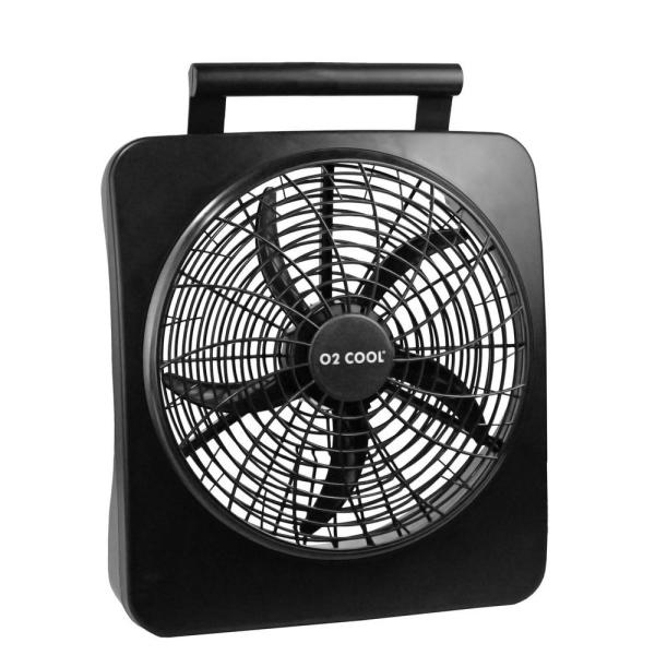 O2cool 10 In. Portable Fan-1071 - Home Depot