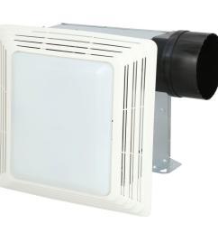 broan 50 cfm ceiling bathroom exhaust fan with light [ 1000 x 1000 Pixel ]