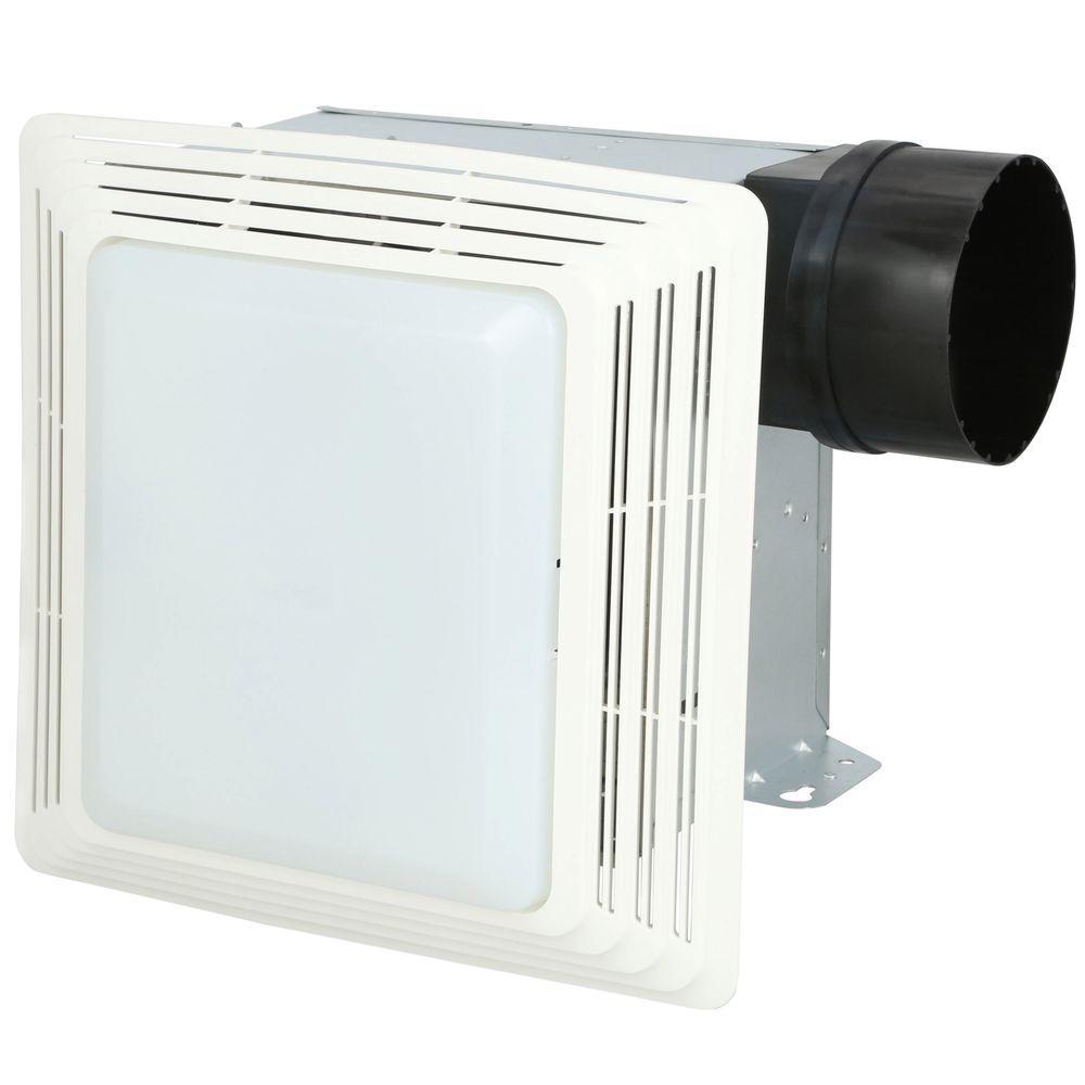 medium resolution of broan 50 cfm ceiling bathroom exhaust fan with light