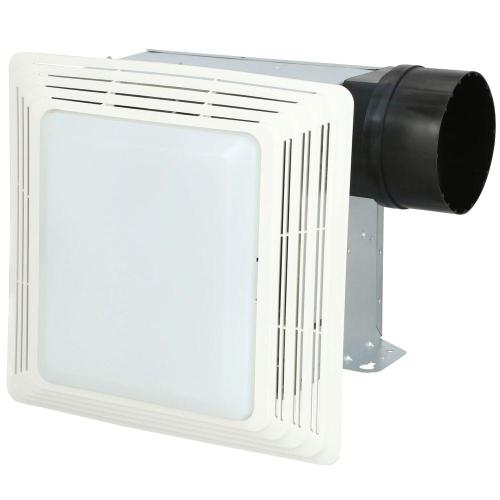 small resolution of broan 50 cfm ceiling bathroom exhaust fan with light