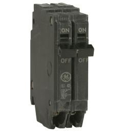 ge q line 20 amp 1 in double pole circuit breaker thqp220 the rh homedepot com [ 1000 x 1000 Pixel ]