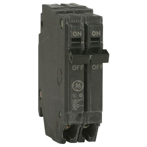 small resolution of ge q line 20 amp 1 in double pole circuit breaker thqp220 the rh homedepot com