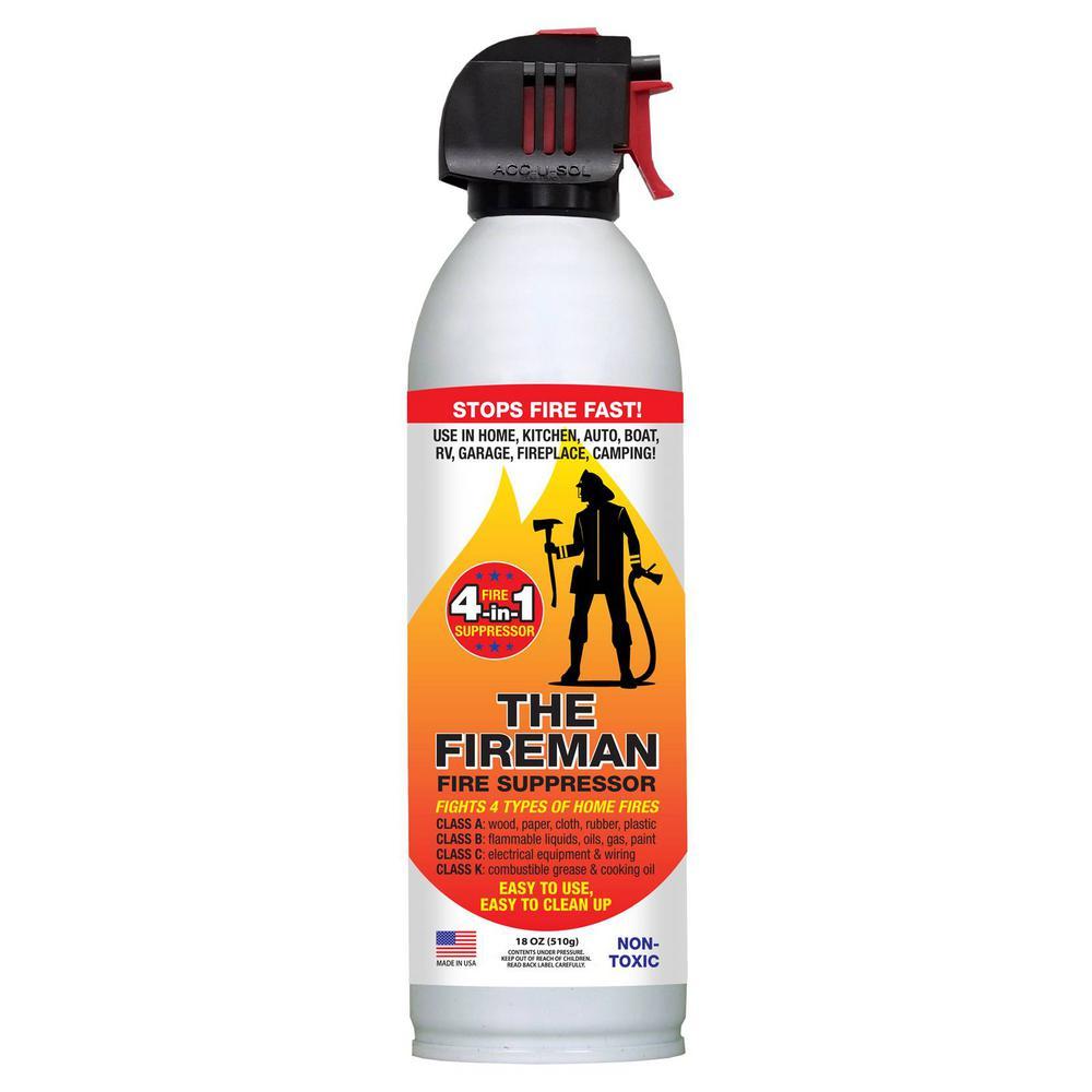 medium resolution of fire extinguishing spray