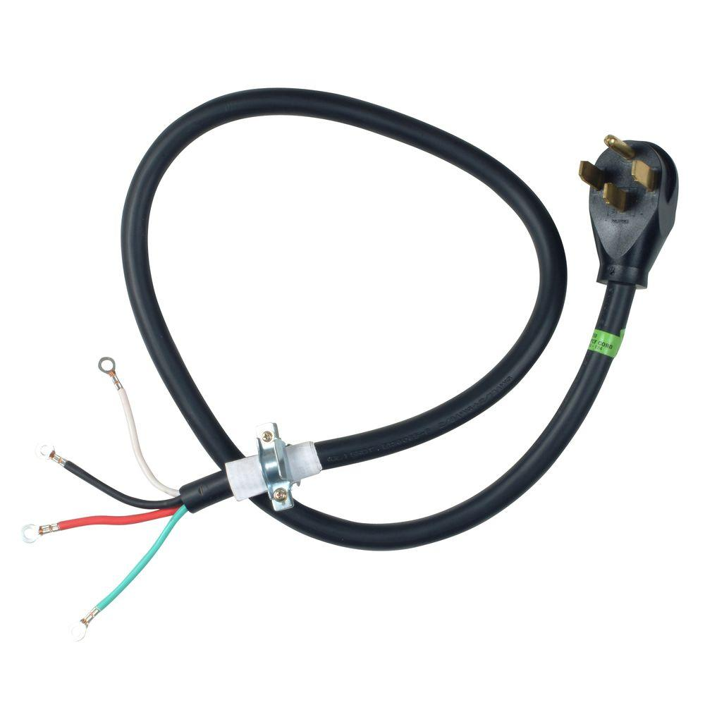 hight resolution of 4 ft 4 wire 30 amp dryer cord