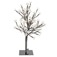 River of Goods 20 in. Clear Cherry Blossom Tree Lamp-12532 ...