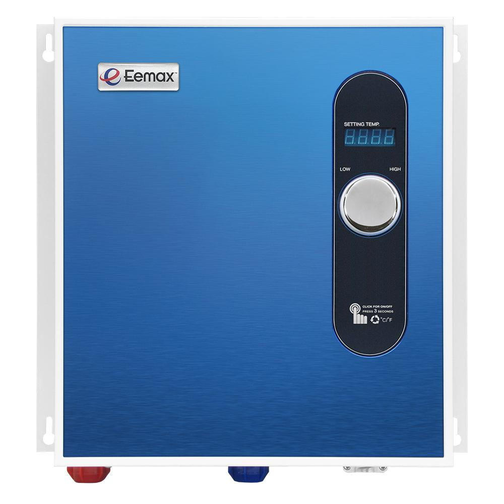 medium resolution of eemax 27 kw self modulating 5 3 gpm electric tankless water heater