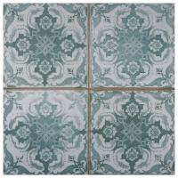 Turquoise Floor Tile | Tile Design Ideas