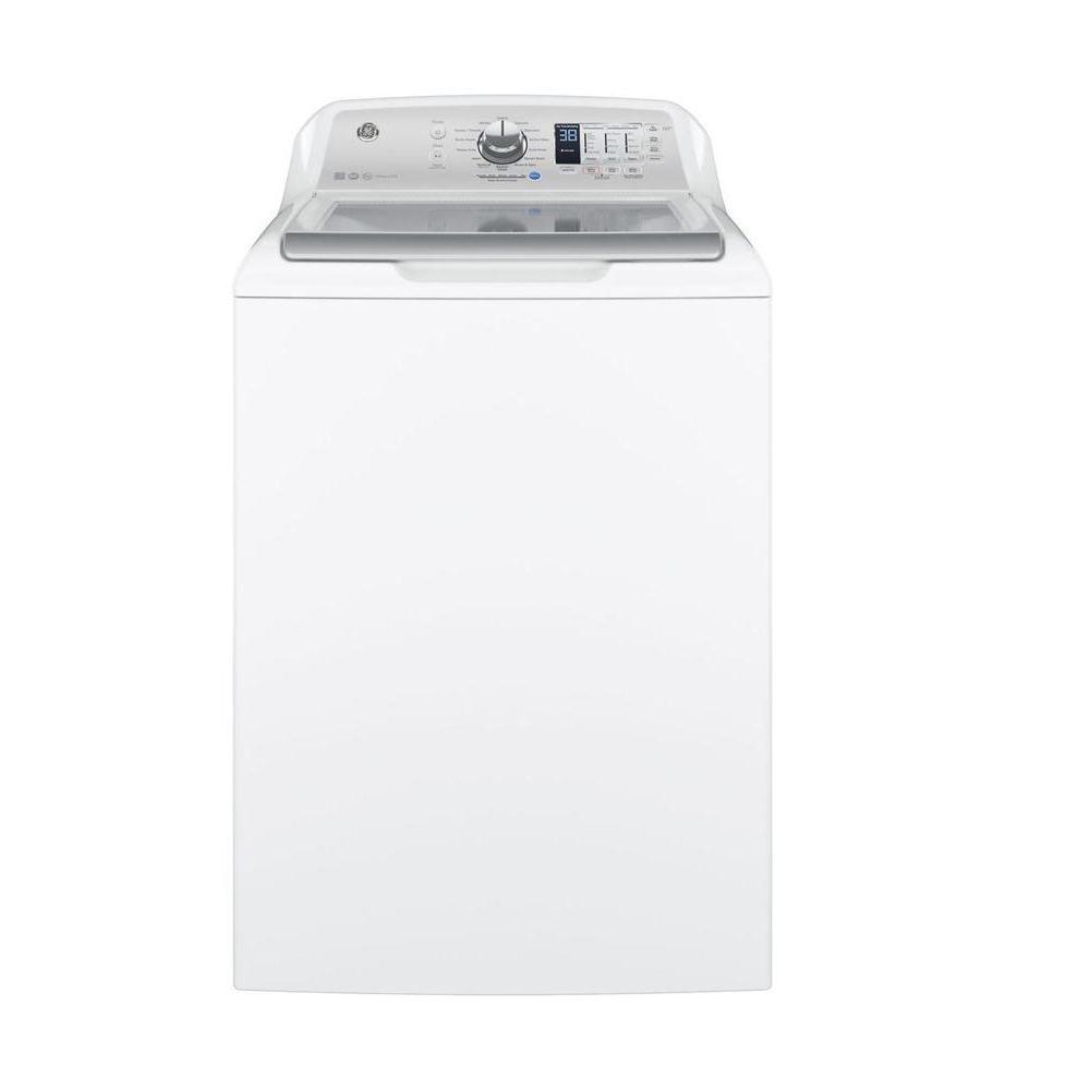 medium resolution of ge 4 6 cu ft high efficiency white top load washing machine energy