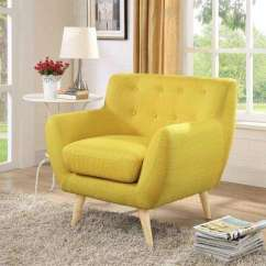 Accent Chair Yellow Free Adirondack Plans Arm Chairs The Home Depot Remark Sunny Upholstered Armchair