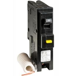 square d homeline 20 amp single pole gfci circuit breaker [ 1000 x 1000 Pixel ]