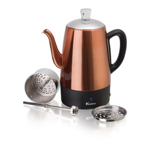 Euro Cuisine 8-cup Electric Percolator-per08 - Home Depot