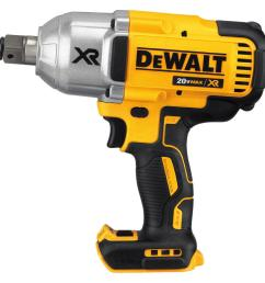 dewalt 20 volt max xr lithium ion cordless brushless high torque 3 4 [ 1000 x 1000 Pixel ]
