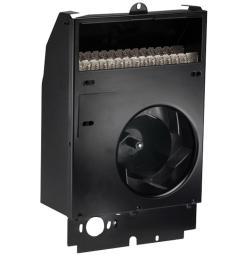 com pak 500 watt 120 volt fan forced wall heater assembly [ 1000 x 1000 Pixel ]