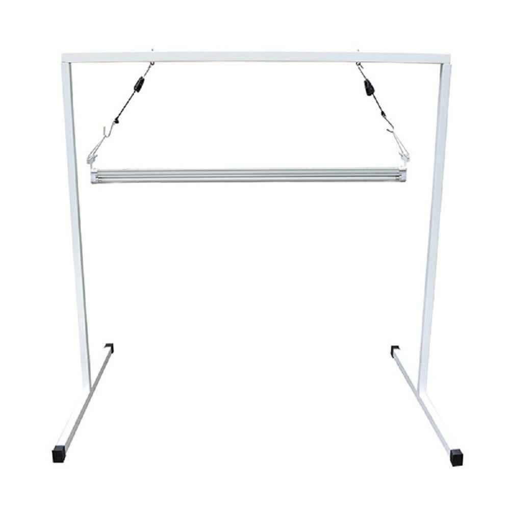 ViaVolt T5 4 ft. Steel White Powder Coated Light Stand