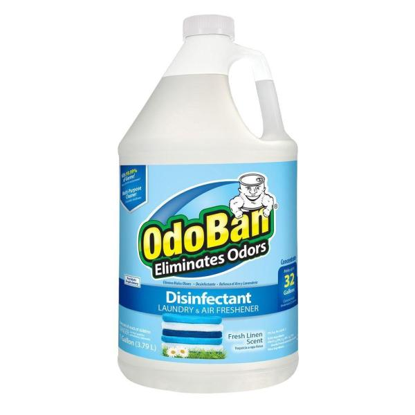 OdoBan 1 Gal Fresh Linen Disinfectant Laundry and Air