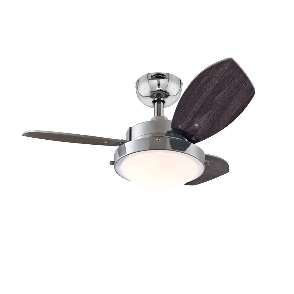 Westinghouse Wengue 30 in Indoor Chrome Finish Ceiling Fan7876300  The Home Depot
