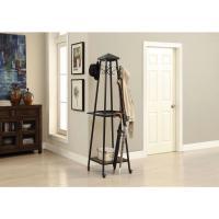 Foremost Black 8-Hook Coat Rack-QL-03191 - The Home Depot