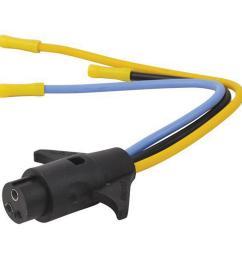 trolling motor connectors male 3 wire 10 gauge 12 volt 24 volt [ 1000 x 1000 Pixel ]