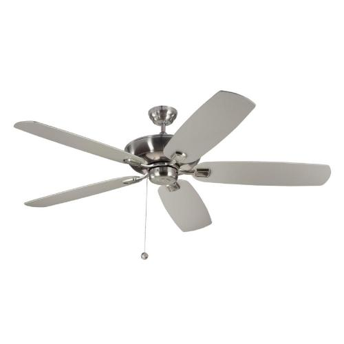 small resolution of monte carlo colony super max 60 in brushed steel ceiling fan