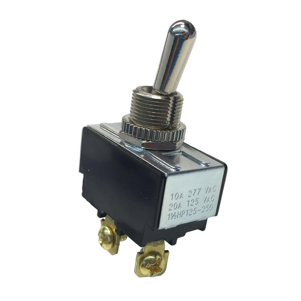 hight resolution of 20 amp 125 volt ac spst toggle switch case of 5