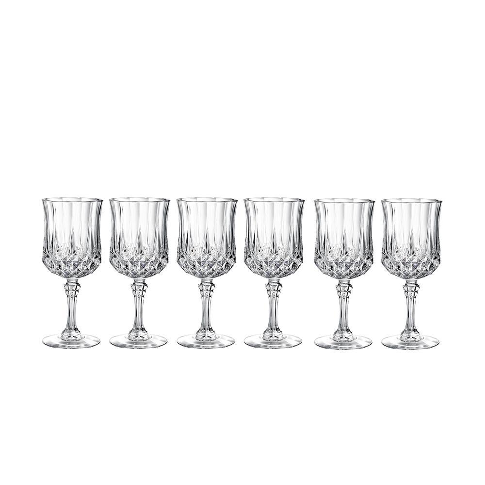 Luminarc Longchamp 5.75 oz. Wine Glass (Set of 6)-M0083