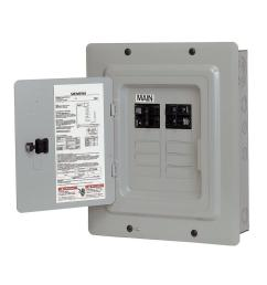 siemens 100 amp 10 space 20 circuit main breaker load center renovation value  [ 1000 x 1000 Pixel ]