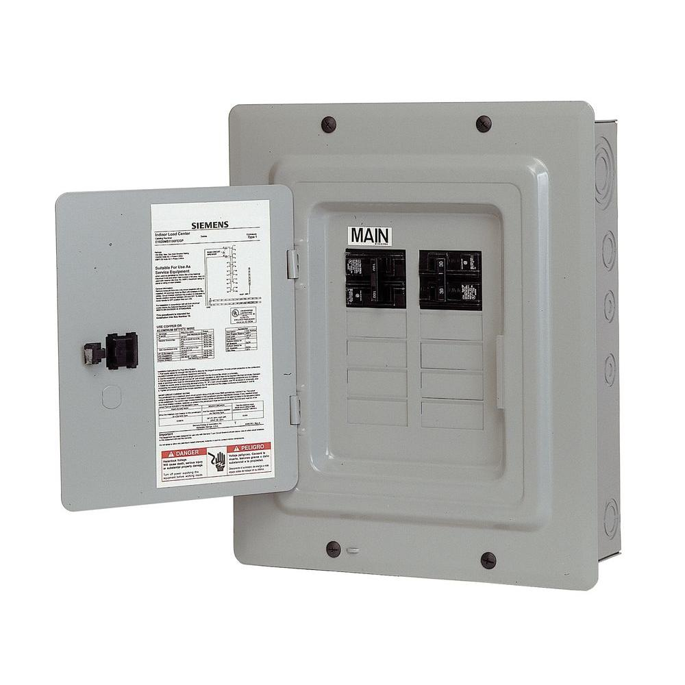 medium resolution of 100 amp 10 space 20 circuit main breaker load center renovation value pack