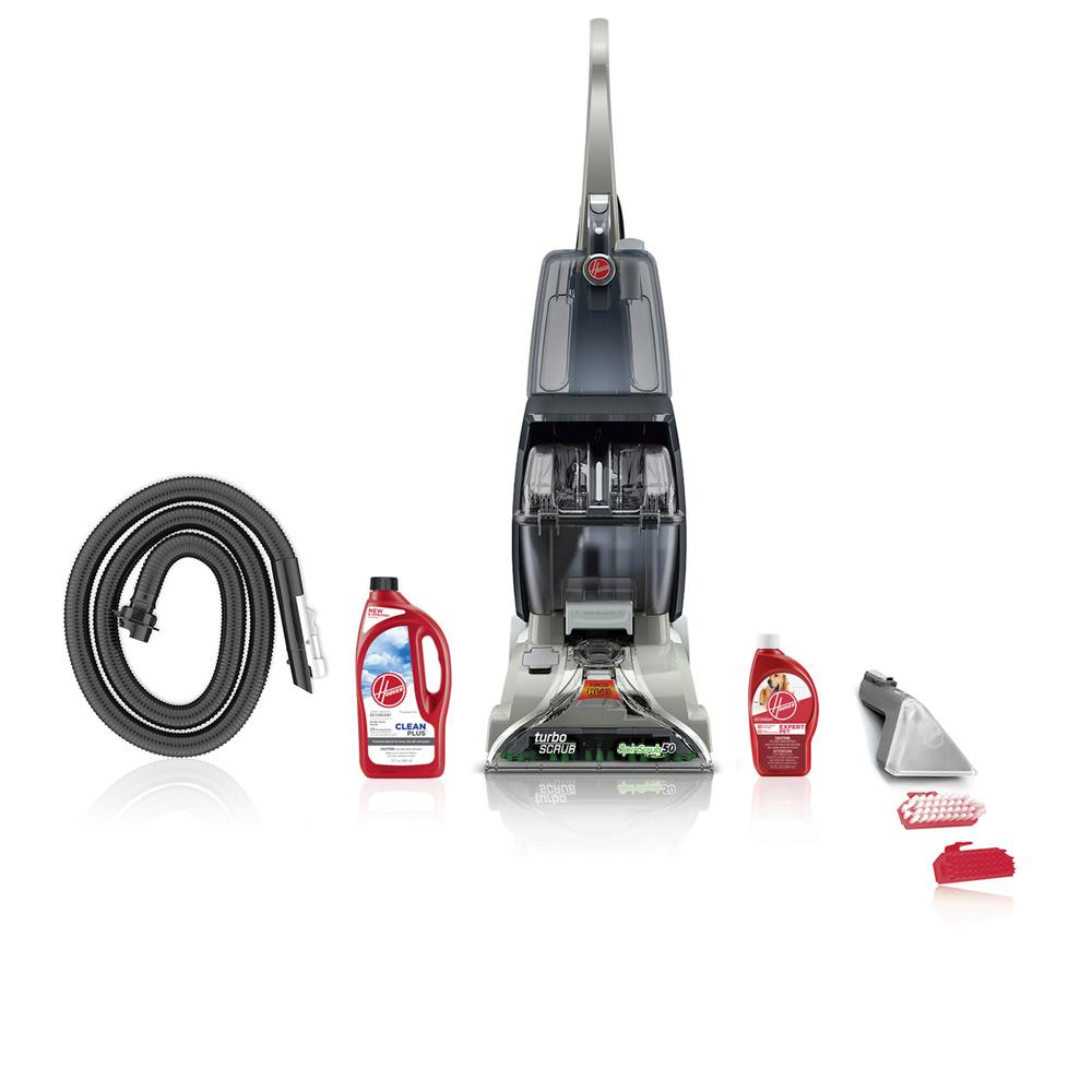 hight resolution of hoover turbo scrub upright carpet cleaner expert pet bundle