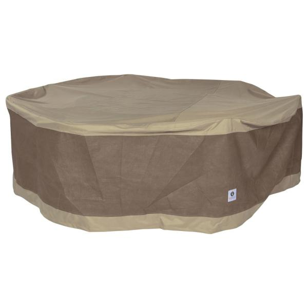 duck covers essential round patio table