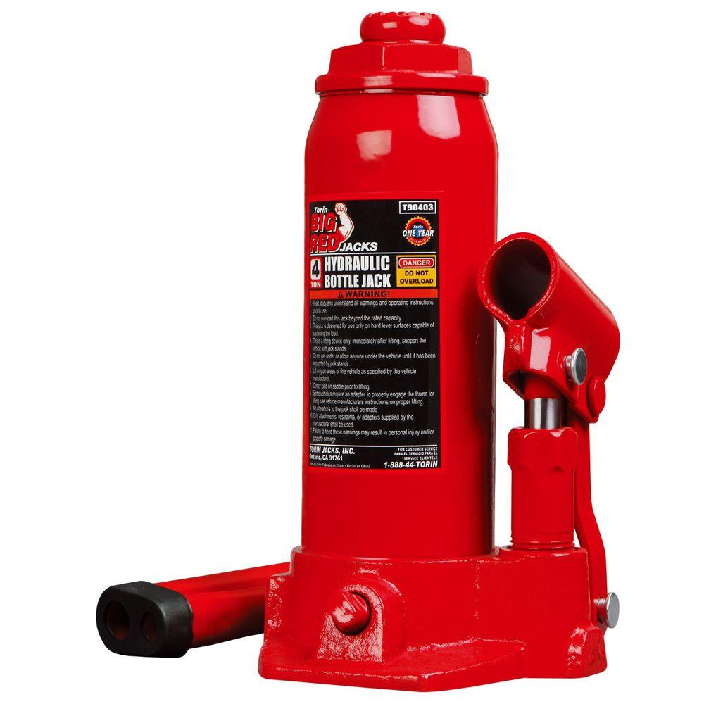 20 Ton Capacity Standard Height Air Operated Hydraulic Bottle Jack