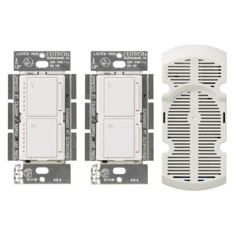 medium resolution of lutron maestro 1 amp multi location 7 speed combination fan and light control kit