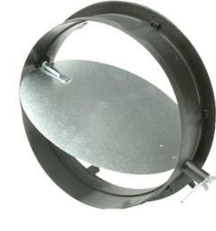 take off start collar with damper for hvac duct work connections [ 1000 x 1000 Pixel ]