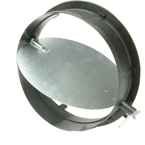 small resolution of take off start collar with damper for hvac duct work connections