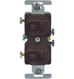 eaton 15 amp commercial grade toggle duplex switch brown [ 1000 x 1000 Pixel ]