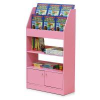 Furinno KidKanac Pink Toy Storage Cabinet Bookshelf ...